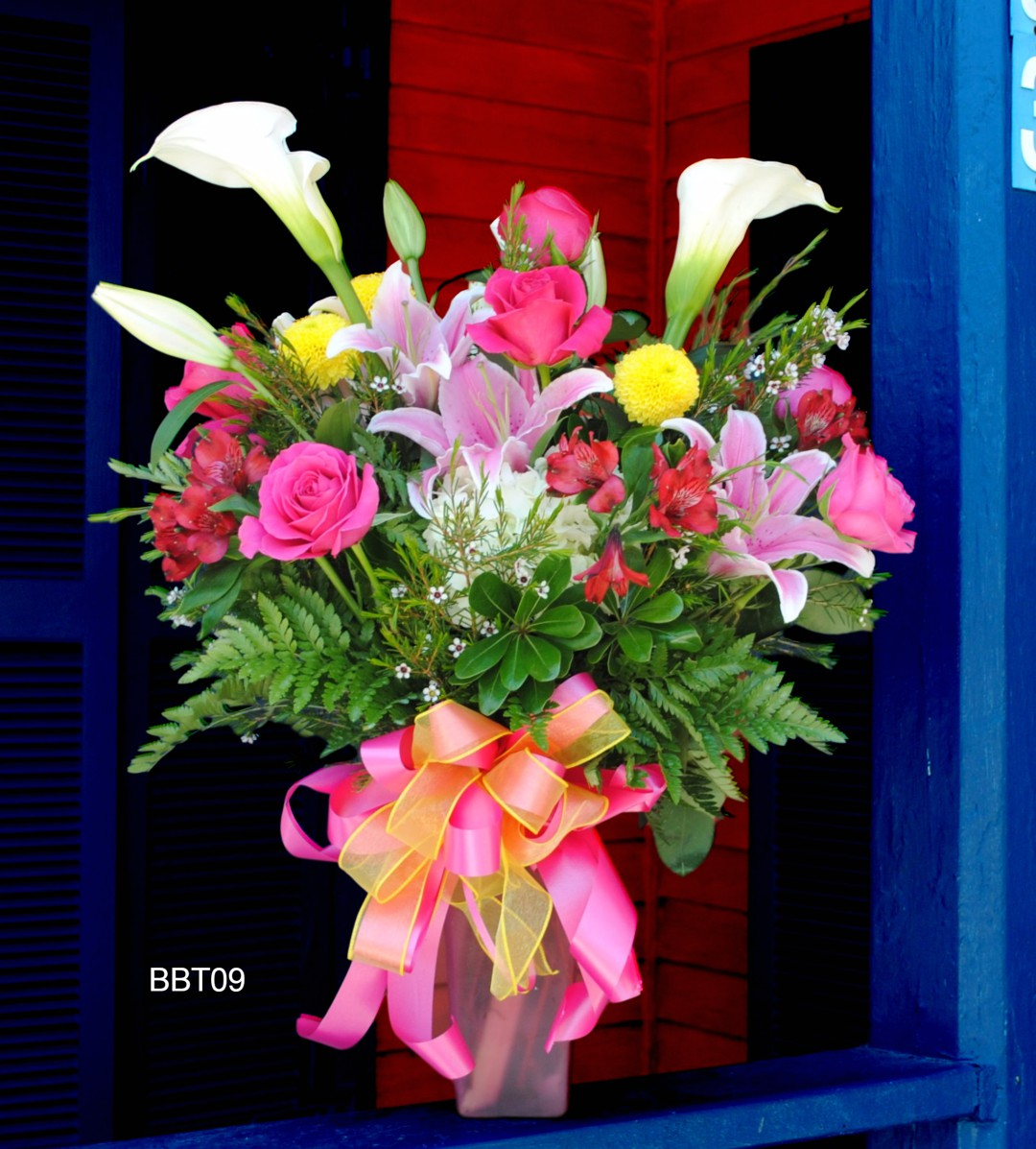Bbt09 bright and beautiful the nassau florist order flowers online bbt09 bright and beautiful izmirmasajfo